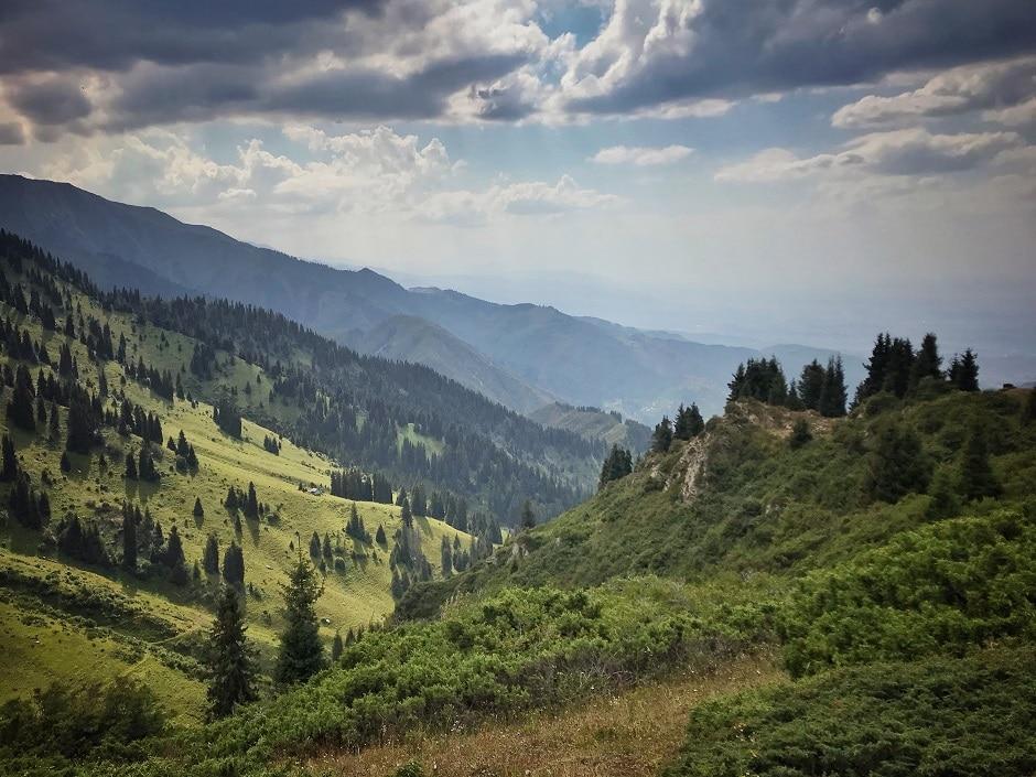 Almaty Wandern Medeo Furmanow