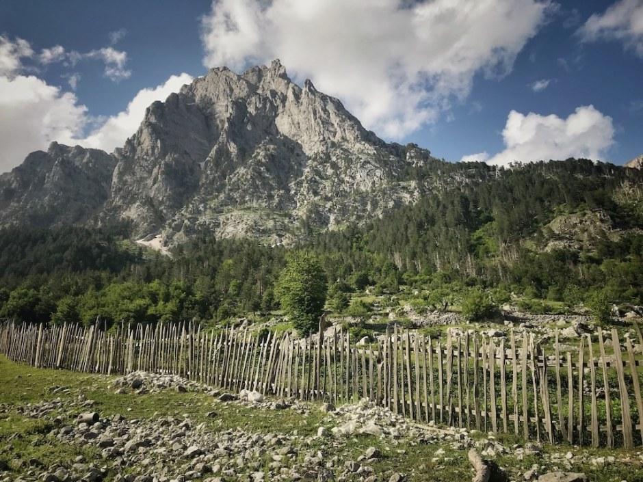 Wandern Albanien Kukaj