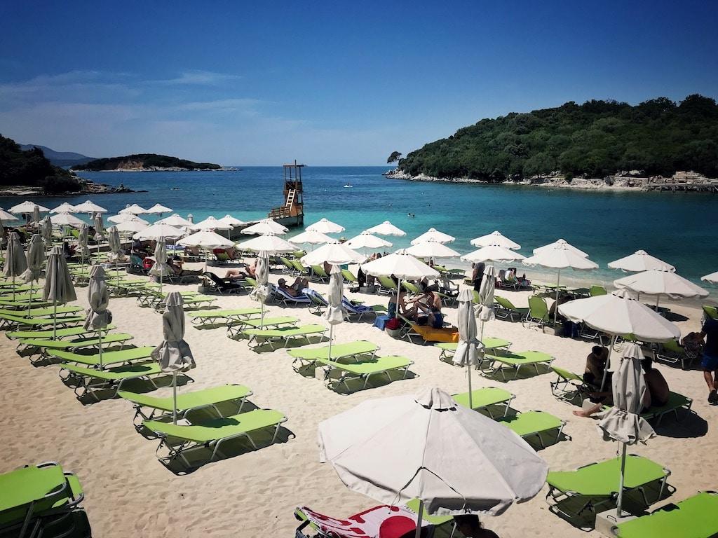 Albanien Strand Ksamil