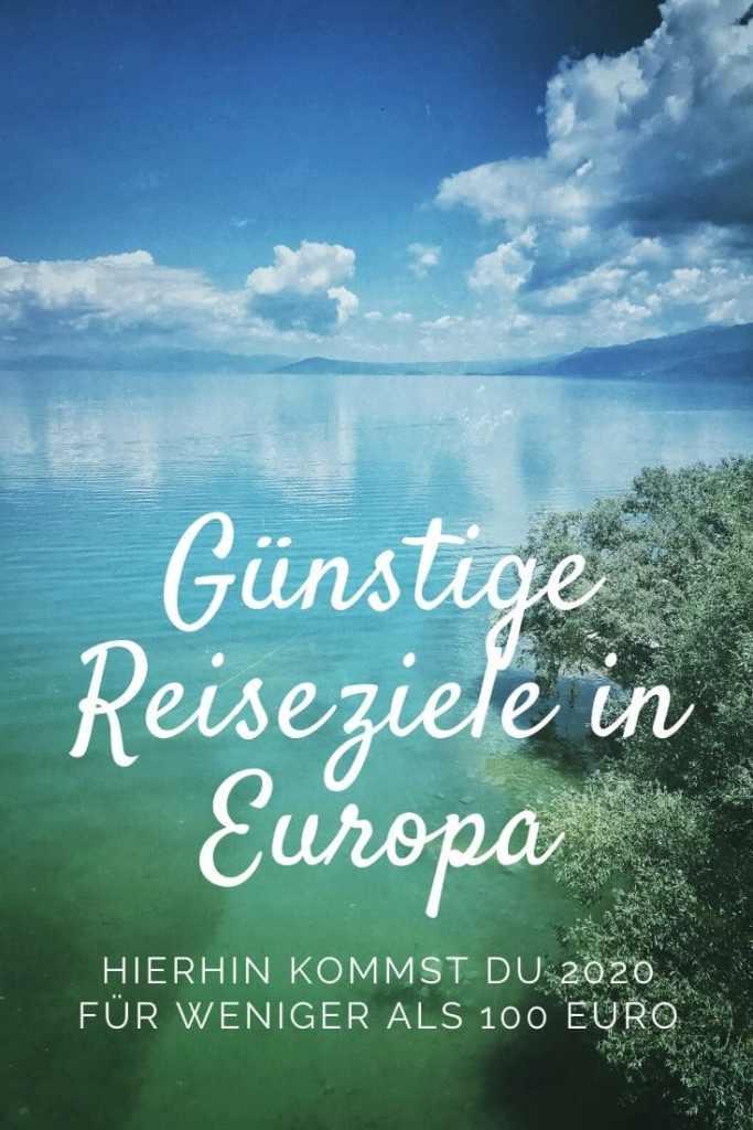 Günstige Reiseziele Europa