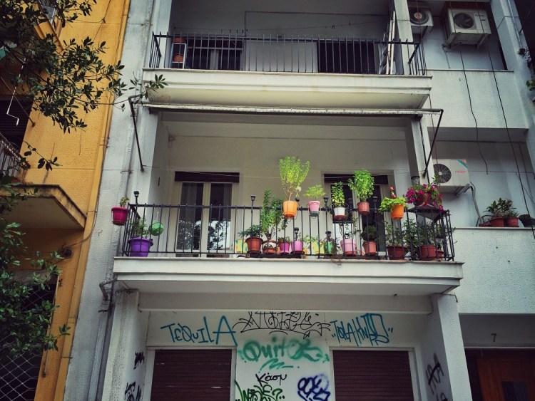 Thessaloniki Typische Architektur