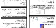 مُراجعة شاملة وملخص وامتحانات نهائية في مادة الفيزياء للصف العاشر