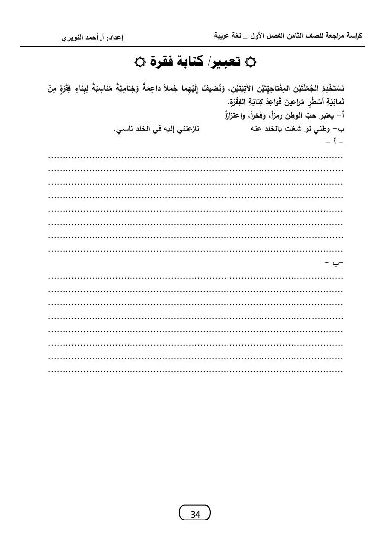 موضوع موثق حول معلومات عن حب الوطن