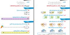 ملف بطاقات التعلم الذاتي لمادة الرياضيات للصف الثاني