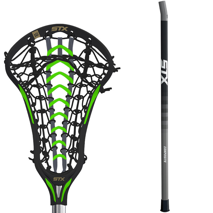 Neon Green Youth Lacrosse Gloves
