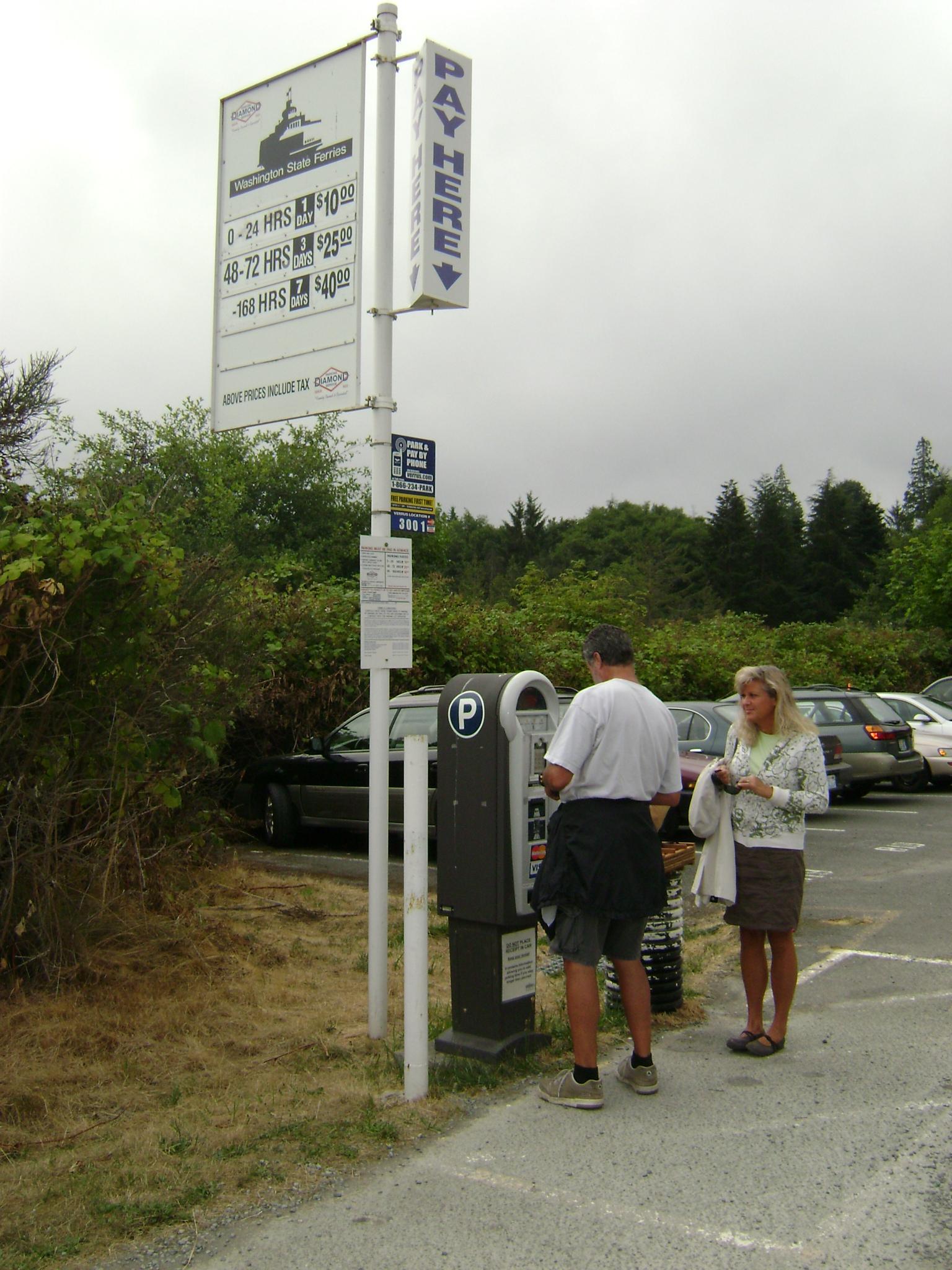 Ferry Parking