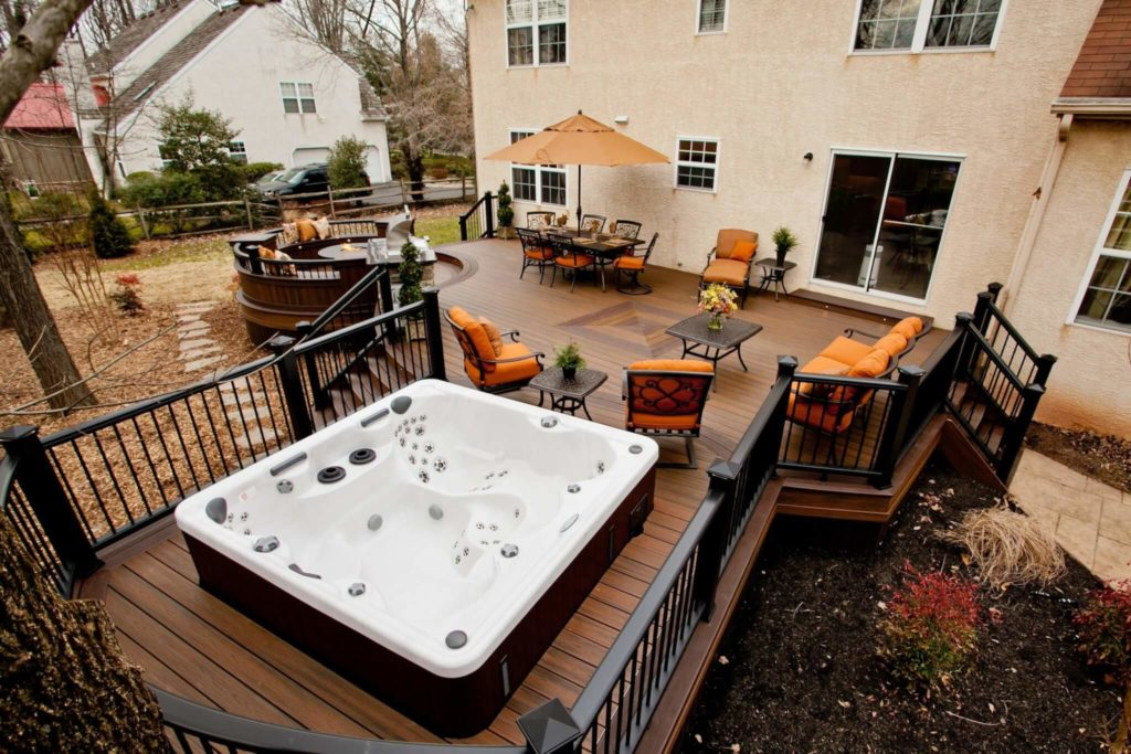 63 Hot Tub Deck Ideas: Secrets of Pro Installers & Designers on Deck And Hot Tub Ideas  id=21036