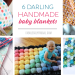 6 Diy Baby Blanket Ideas Your Baby Will Love Fabulessly Frugal