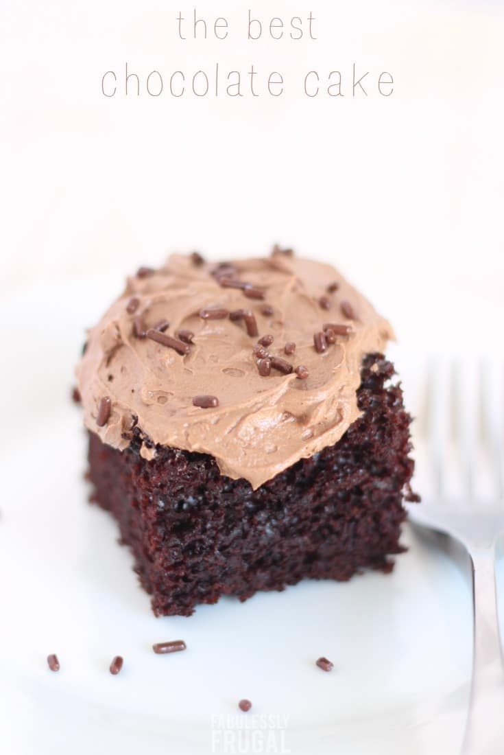 Easy Chocolate Cake Recipe From Scratch So Moist