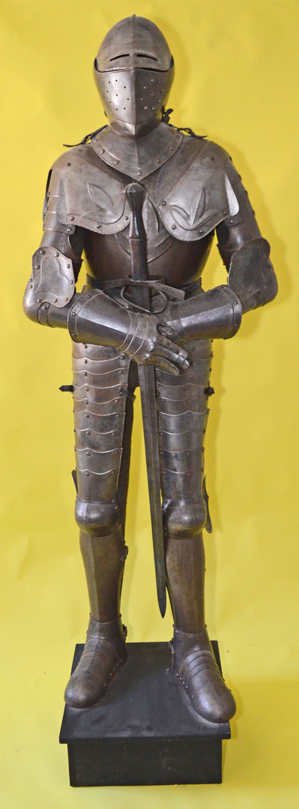 Rare 17th Century French Style Life Size Complete Suit of ...