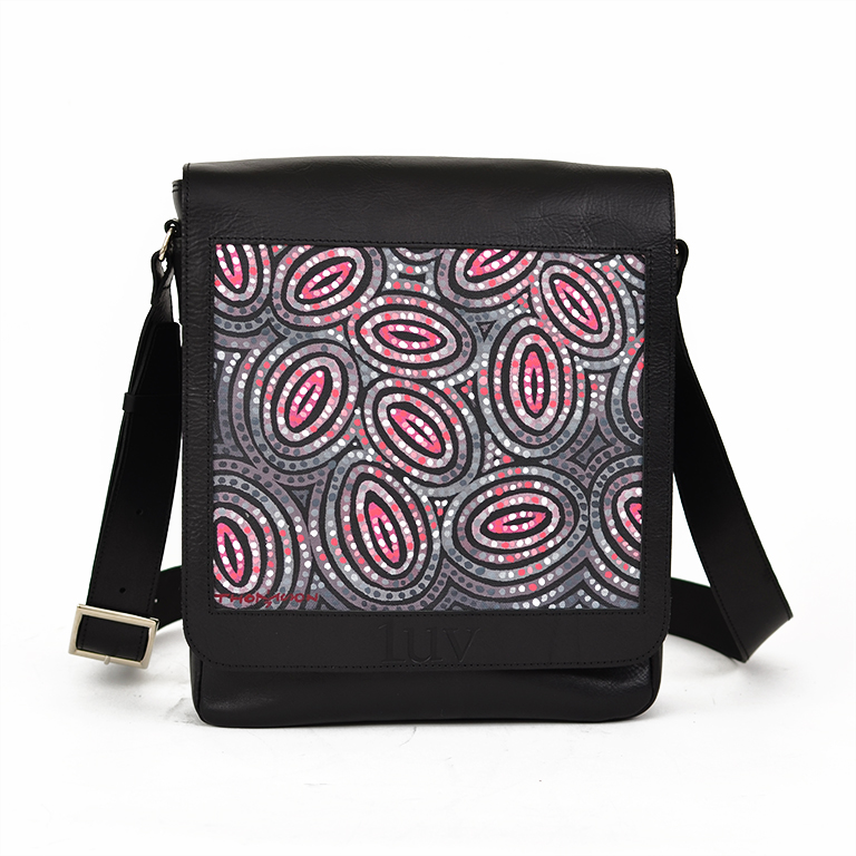 MB Messenger Bag-AMF63 Black