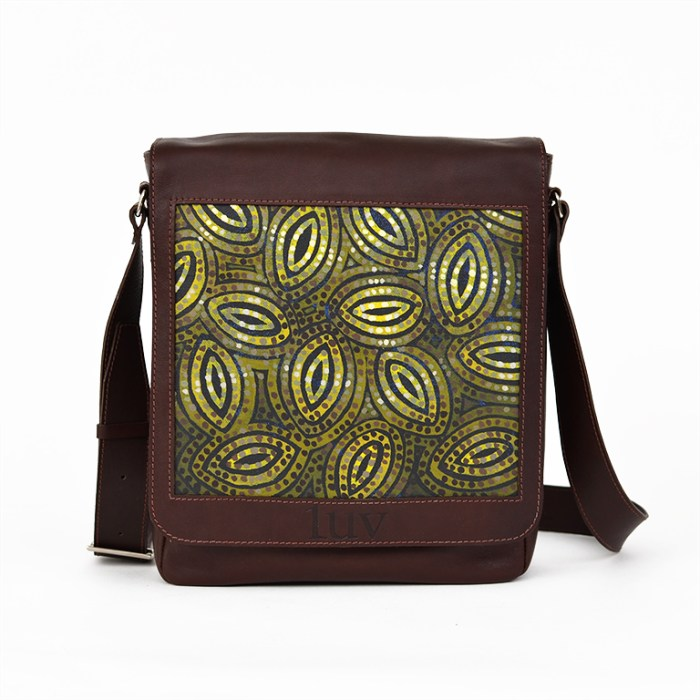 MB Messenger Bag-AMF88-Brown