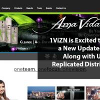 Updated 1ViZN Website & Replicated Distributor Websites