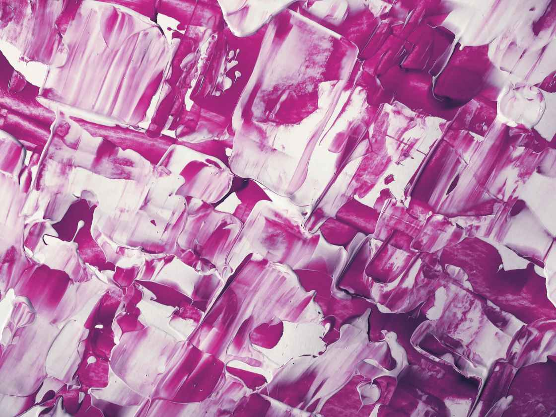 photo of white and purple painting