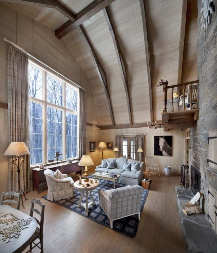 Living room of the Barn Cottage