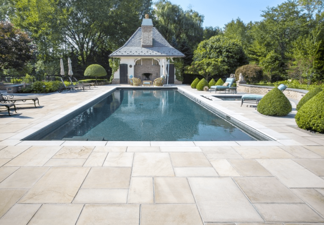 Using Natural Stone and Bluestone in your Long Island ... on Unilock Patio Ideas id=89910