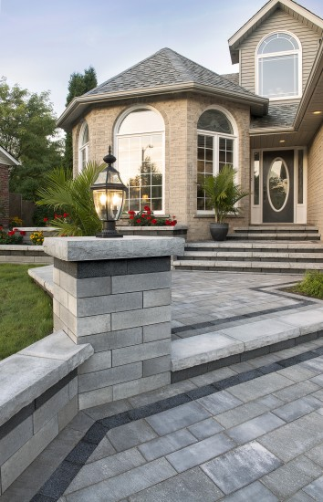 This Year: Patio Design is about Borders and Banding | Unilock on Unilock Patio Ideas id=40930