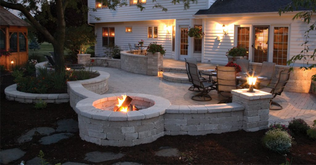 Fire Pit or Outdoor Fireplace for your Cambridge, Ontario ... on Fireplace In Yard id=35571