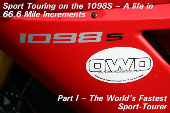 Part I - The World's Fastest Sport-Tourer - Cover