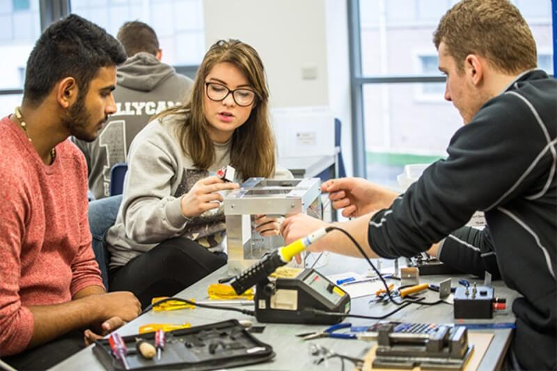 Internships for Students of Engineering and Business Specialties