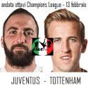probabili formazioni Juventus-Tottenham