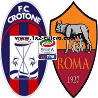 Pronostico Crotone Roma