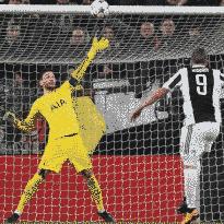 probabili formazioni Tottenham-Juventus