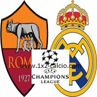 pronostico Roma-Real Madrid