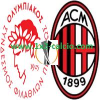 Pronostico Olympiakos-Milan