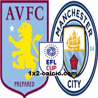 Pronostico Aston Villa-Manchester City