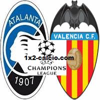 Pronostico Atalanta-Valencia