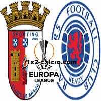 Pronostico Braga-Rangers