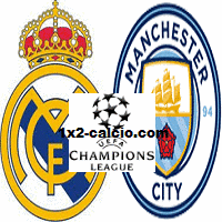 Pronostico Real Madrid-Manchester City