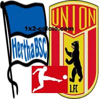 Pronostico Hertha-Union Berlino