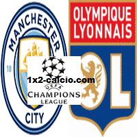 Pronostico Manchester City-Lione