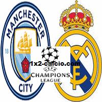Pronostico Manchester City-Real Madrid
