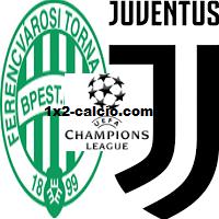 Pronostico Ferencvaros-Juventus