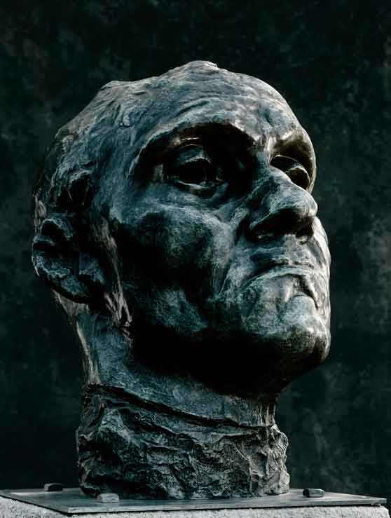 The Face Of Courageous Sacrifice And Suffering Jean DAire Sculpture By August Rodin 1X57