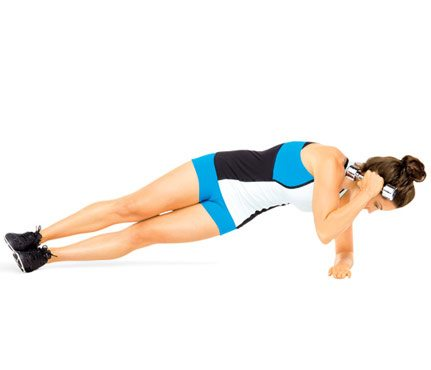 crunch time plank