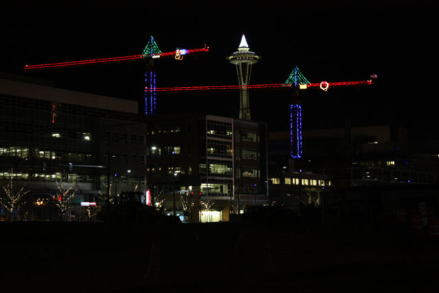 Washington Seahawks Christmas Lights