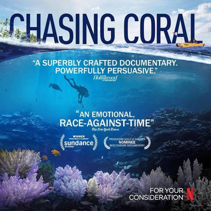 Chasing coral environmental documentary