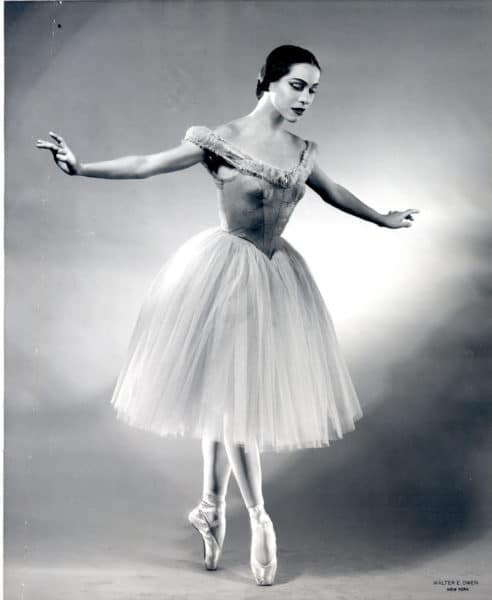 Maria Tallchief, Native American Prima Ballerina, National Women's History Month