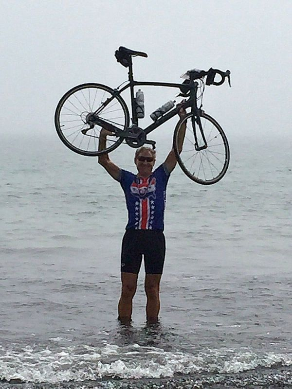 Cyclist makes it cross country for Atlanta student ...