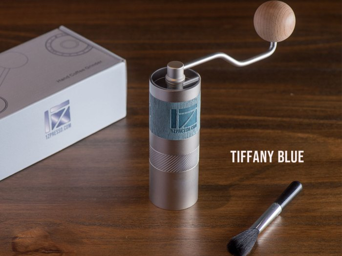 Q2 Grinder - Pentagonal Version - Tiffany Blue