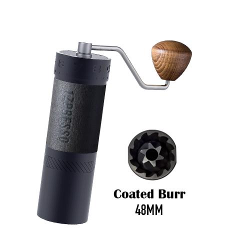 J-Max grinder with the Titanium-coated burr set