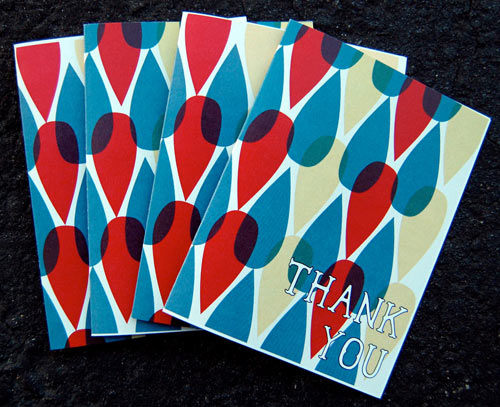 30+ Modern Thank You Cards