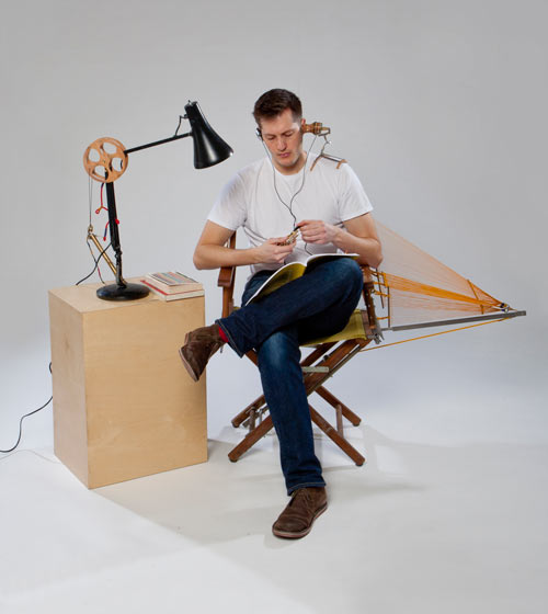Repair is Beautiful by Paulo Goldstein in technology home furnishings art Category