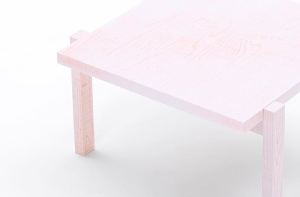 Colored Pencil Table by Nendo in home furnishings Category