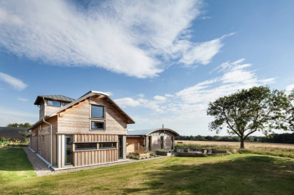 WWII Airbase Becomes a Farmhouse in architecture Category