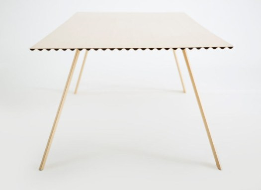 Has Benjamin Hubert Designed The Worlds Lightest Dining Table? in home furnishings Category